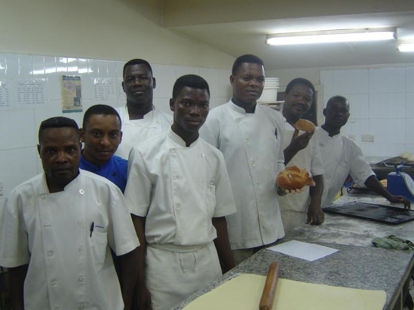 Mes boulangers avec une cuchaule